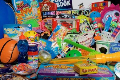 Party Bag Fillers, Chapel Allerton, Roundhay, Leeds, Loom Bands, toy cars, bubbles, magic, balls