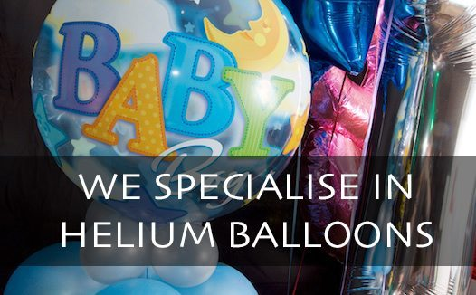 Baby Boy,, balloon Bouquet, Commercial Photography by Bevan Cockerill