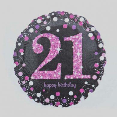 Holographic Sparkling Pink - Purple 21