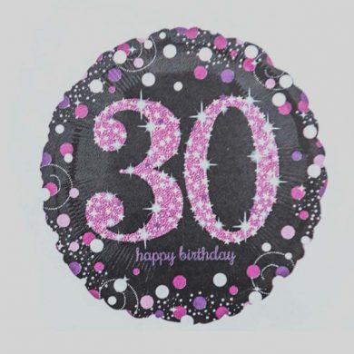 Holographic Sparkling Pink - Purple 30