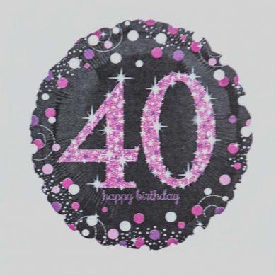 Holographic Sparkling Pink - Purple 40
