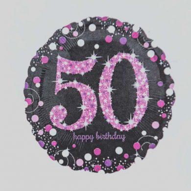 Holographic Sparkling Pink - Purple 50