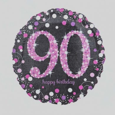 Holographic Sparkling Pink - Purple 90