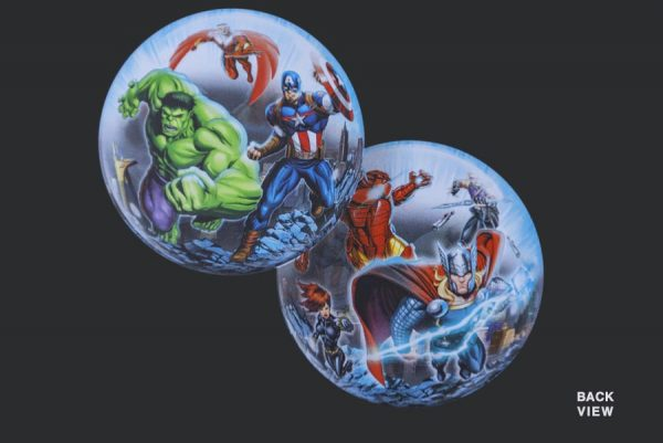 Avengers - Clear Bubble Helium Balloons