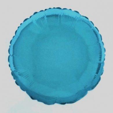 Baby Blue Circle Helium Balloon