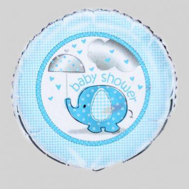Baby Shower blue elephant Helium Balloons