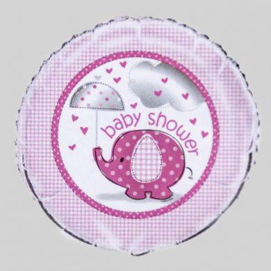 Baby Shower pink elephant Helium Balloons