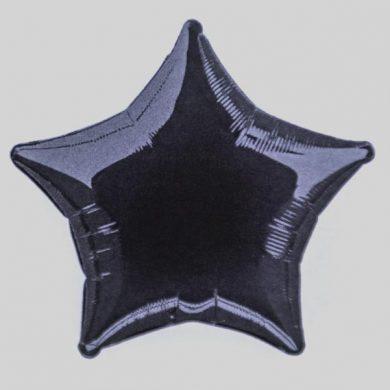 Black Star Helium Balloon