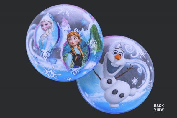 Frozen - Clear Bubble Helium Balloons