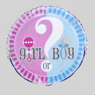 Girl or boy? baby Helium Balloons