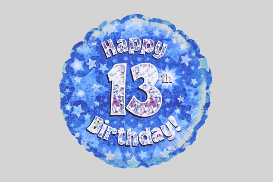 Happy 13th Birthday Balloon