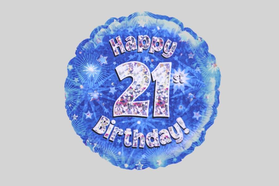 Happy 21st Birthday Balloon