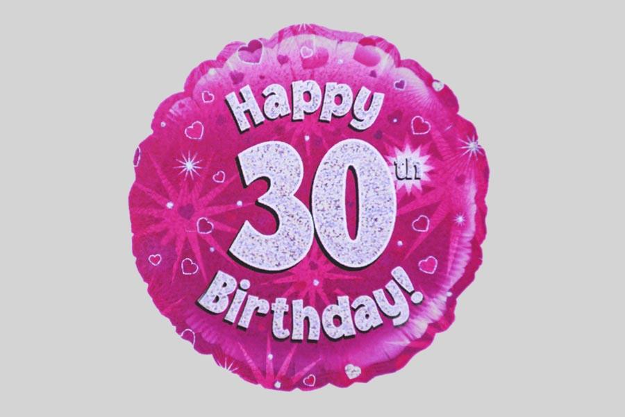 Happy 30th Birthday Balloon