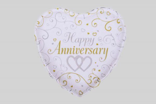 Happy Anniversary 2 Helium Balloon