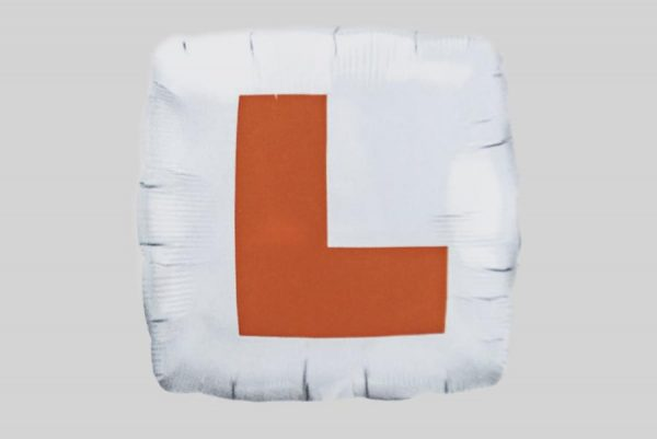 Learner Driver L Helium Balloon
