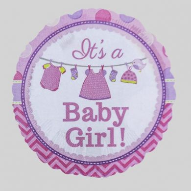 Its a Baby Girl Helium Balloons