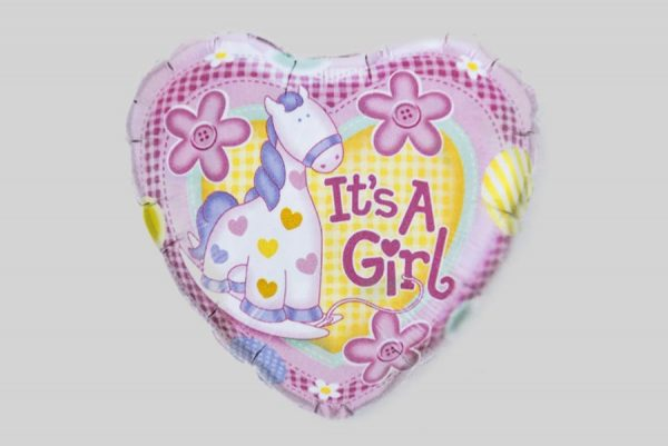 Its a girl horse baby Helium Balloons