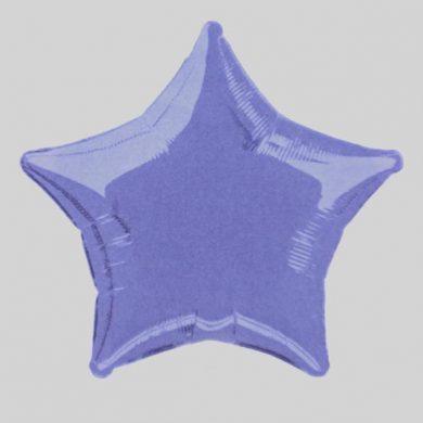 Lavender Star Helium Balloon