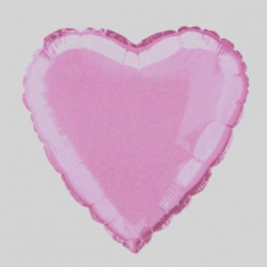 Pastel Pink Star Helium Balloon