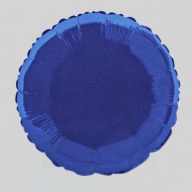 Royal Blue Circle - Helium Balloon - Shape Balloon - 18 inch