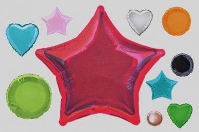 Basic Shape Balloons