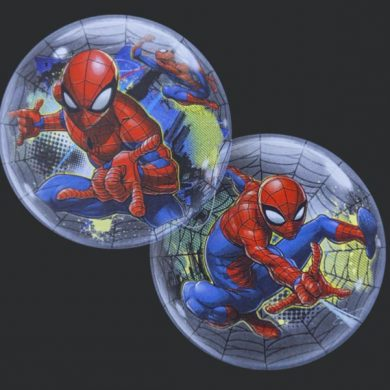 Spiderman - Clear Bubble Helium Balloons