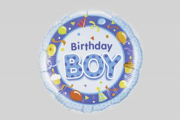 Birthday Boy Balloon - Blue party