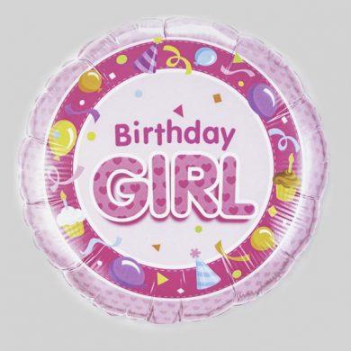 Birthday Girl Balloon - Pink party