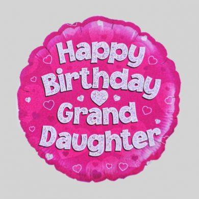 Happy Birthday Grand Daughter