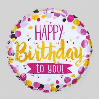 Happy Birthday to you Balloon - spots