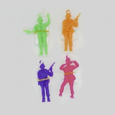 Parachute men Assorted colours