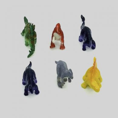 Plastic dinosaur Figures