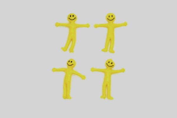 Stretchy smiley men