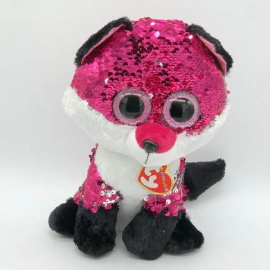 TY Flippables - Jewel Fox sequin toy