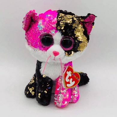 TY Flippables - Malibu Cat sequin toy