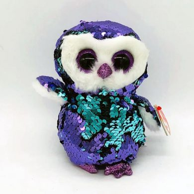 TY Flippables - Moonlight Owl sequin toy