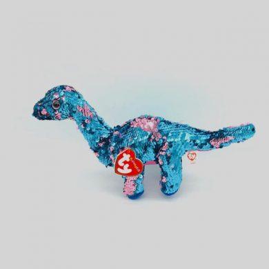 TY Flippables - Tremor Dinosaur sequin toy