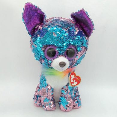 TY Flippables - Yappy Chihauhua sequin toy