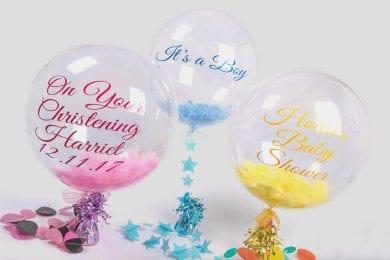 Personalised Helium Balloon